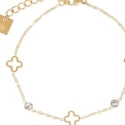 ZAG Bijoux jewellery  ZAG armband luck allover sparkle gold