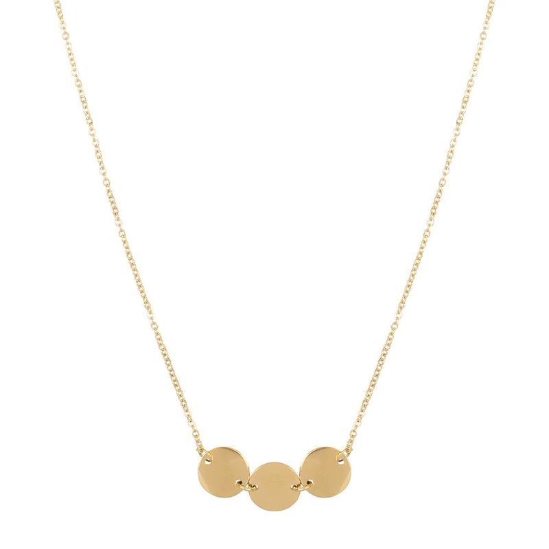 ZAG Bijoux jewellery ZAG Bijoux coins ketting - goud