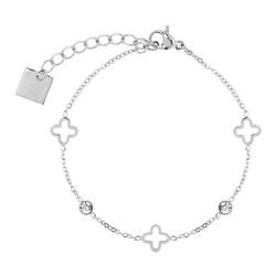 ZAG Bijoux  ZAG armband luck allover sparkle silver