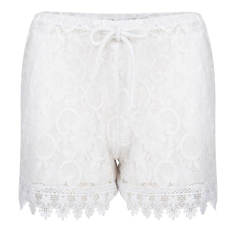 ibiza bohemain off white short