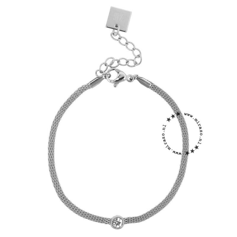 ZAG Bijoux jewellery ZAG armband  - basic kristal zilver