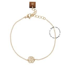 ZAG Bijoux  ZAG bijoux armband  - roos gold