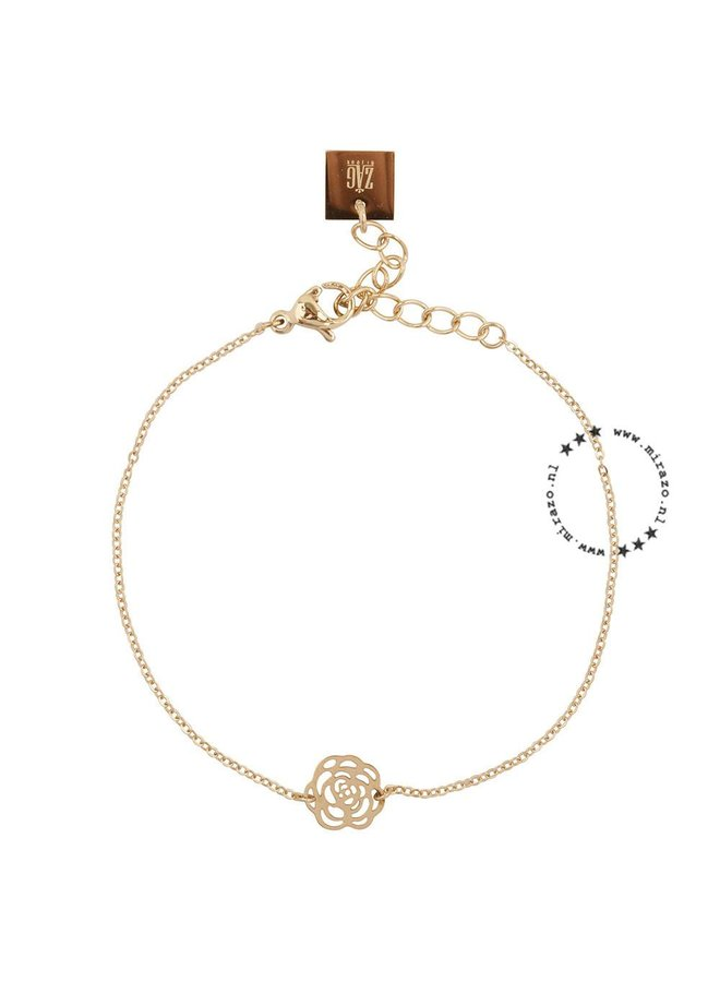 ZAG bijoux Roos armband  - goud
