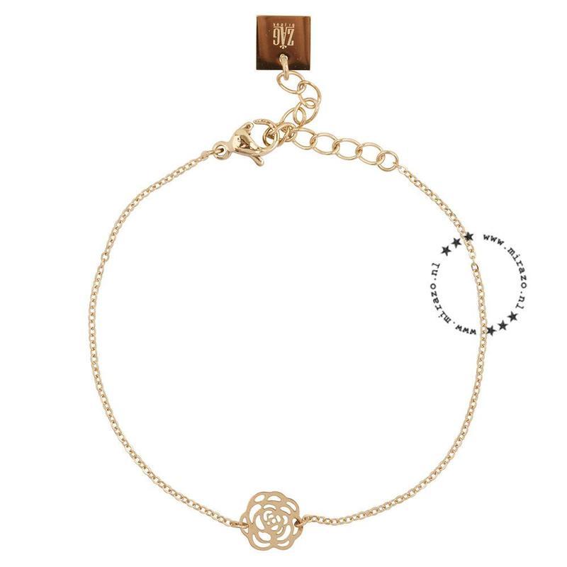 ZAG Bijoux  ZAG bijoux Roos armband  - goud
