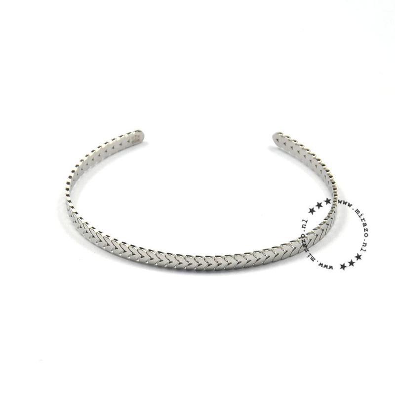 ZAG Bijoux  ZAG bijoux ibiza basic armband-zilver