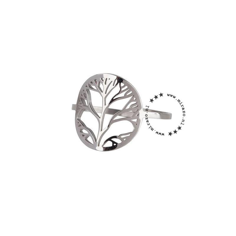 ZAG Bijoux  ZAG  Bijoux ring  - levensboom  - zilver