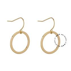ZAG Bijoux  zag  bijoux oorbel  - roundie gold