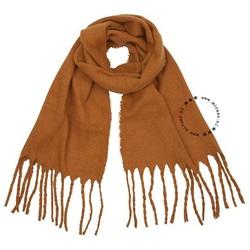 warme herfst sjaal- camel