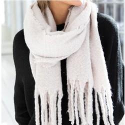 big  fall scarf- naturel