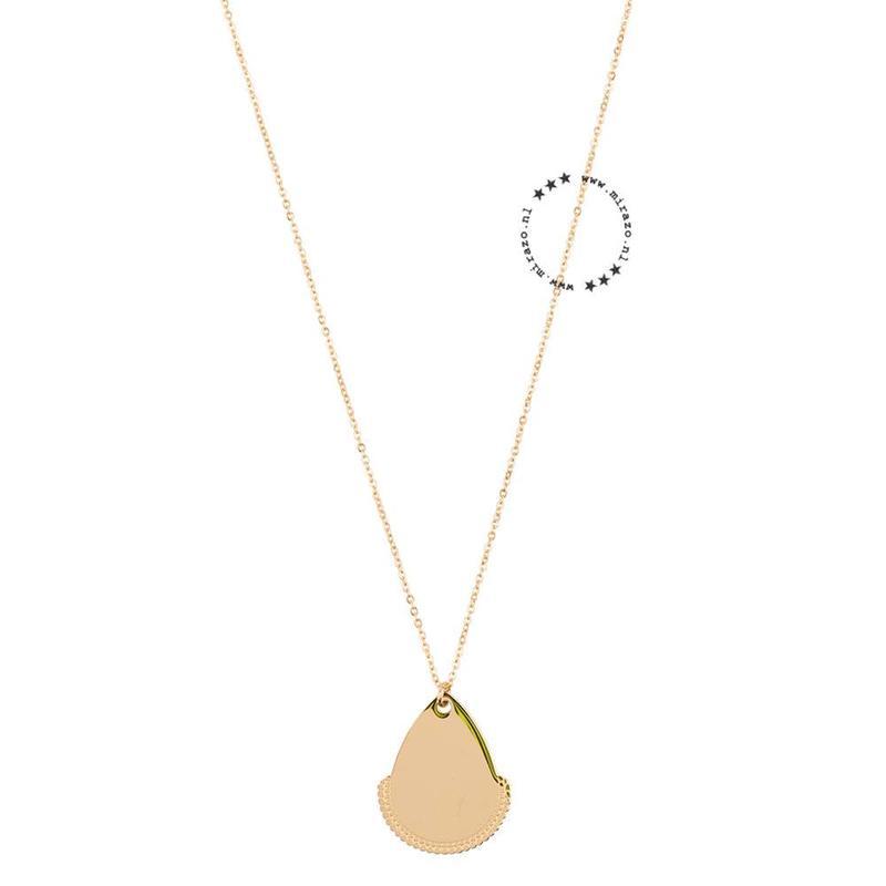 ZAG Bijoux  ZAG Bijoux ketting- Boho pendant - goud