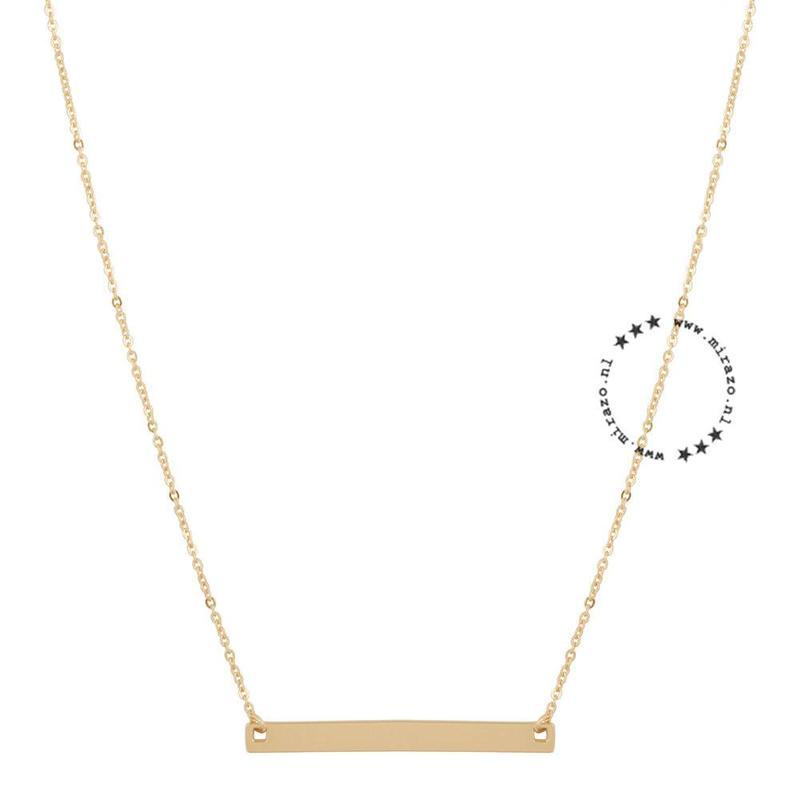 ZAG Bijoux  ZAG Bijoux Minimalistic necklace - Goud