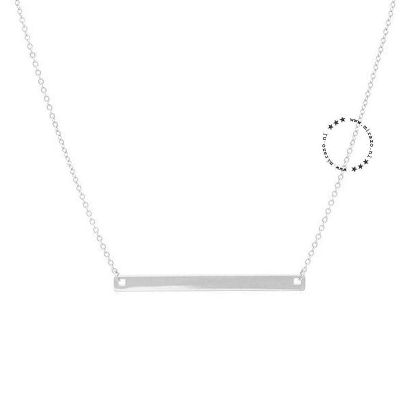 ZAG Bijoux  ZAG Bijoux Minimalistic necklace - Zilver