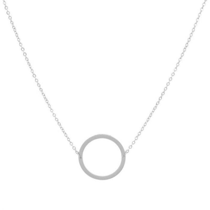 ZAG Bijoux  ZAG Bijoux cirkel necklace - Zilver