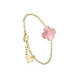 ZAG Bijoux jewellery  ZAG armband klaver roze goud