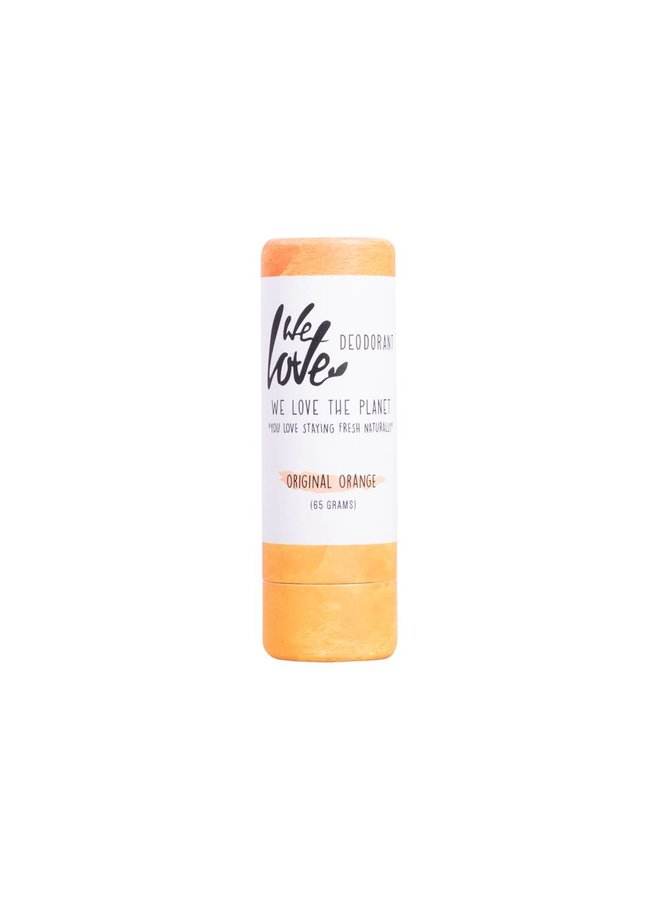 We Love the Planet deodorant stick - Original Orange