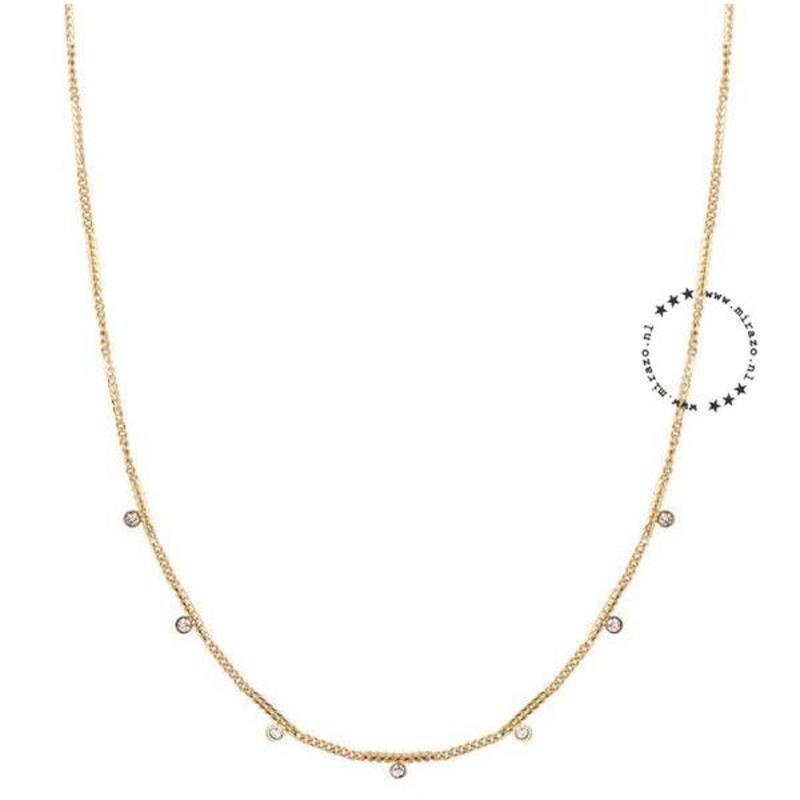 ZAG Bijoux  ZAG bijoux diamonds necklace-gold