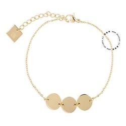 ZAG Bijoux  ZAG Bijoux coins armband - goud
