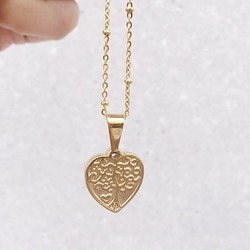 Rocky Rosa Rocky Rosa family forever necklace -gold
