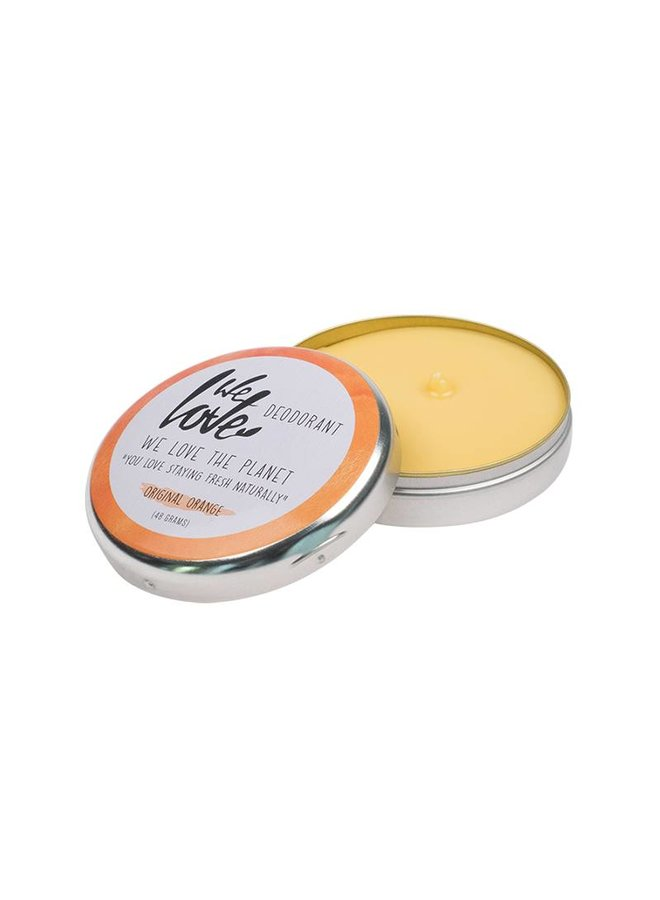 We love the planet deodorant  - Original Orange
