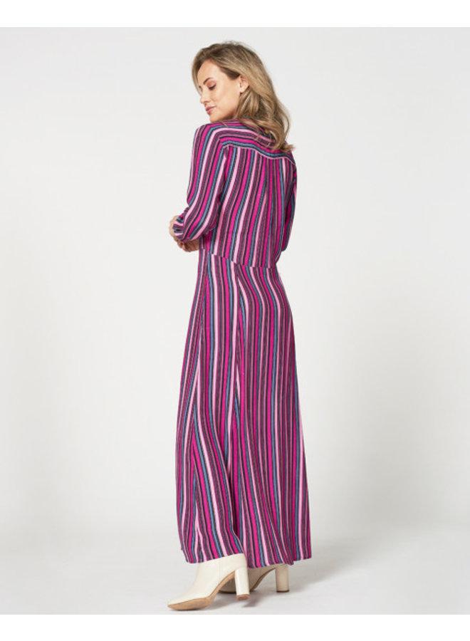 Freebird Gabriella maxi dress  - pink