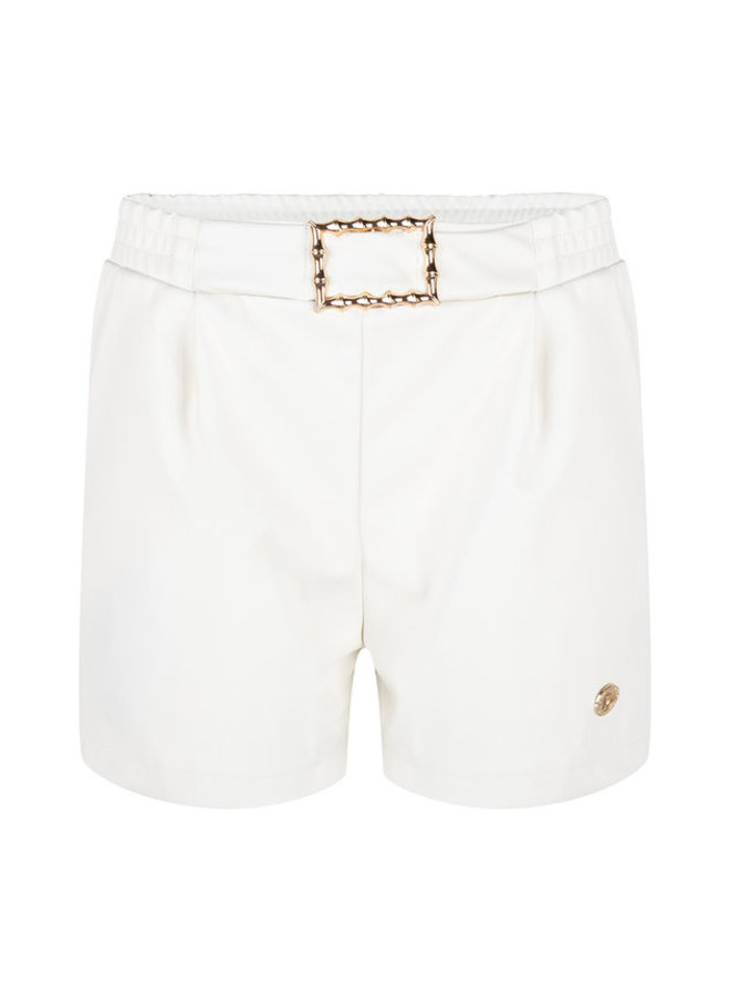 Delousion Rior short-off white ss19