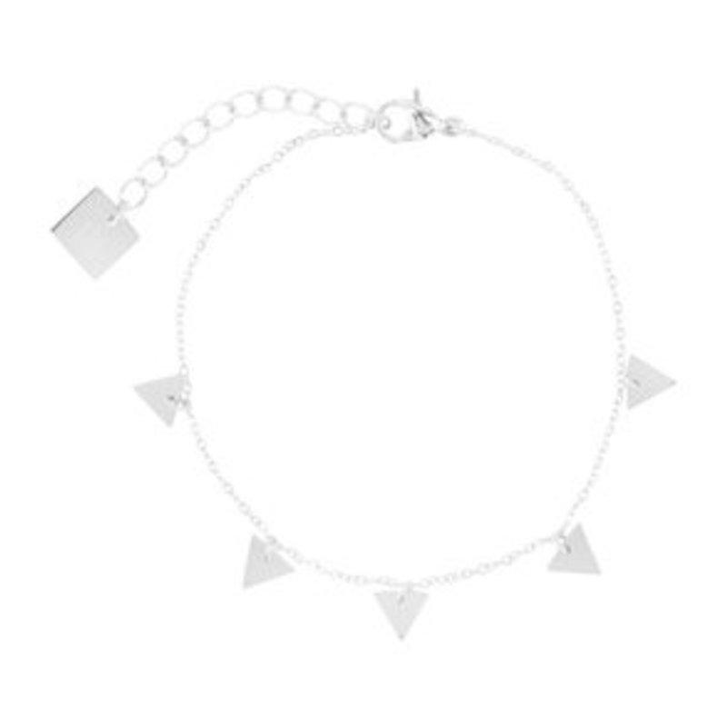 ZAG Bijoux jewellery  ZAG Bijoux Triangle Bracelet - silver