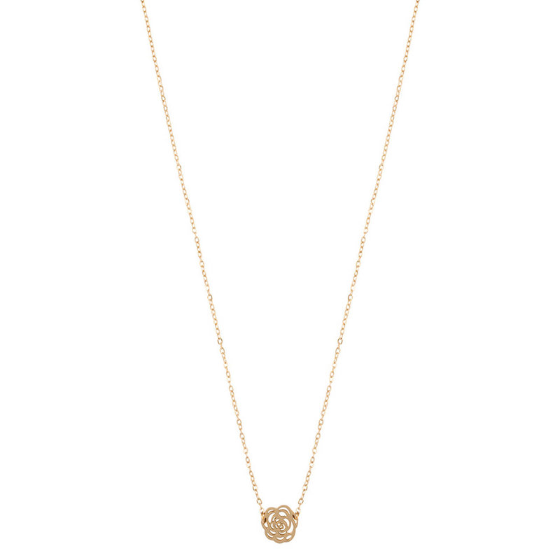 ZAG Bijoux jewellery  ZAG Bijoux Rose Necklace - gold
