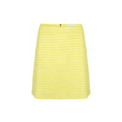 Delousion Delousion  holy Skirt - yellow