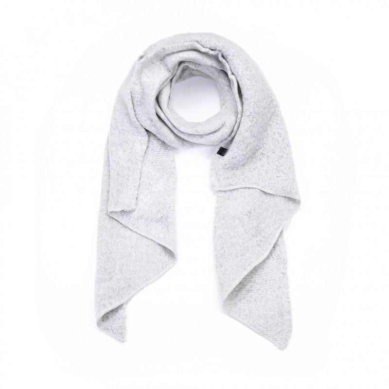 Winter zachte sjaal- light grey