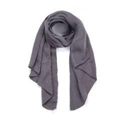 Winter zachte sjaal - dark grey