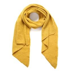 Winter zachte sjaal - oker geel