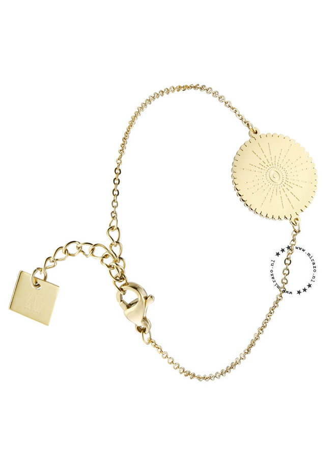 ZAG Bijoux ibiza armband -goud