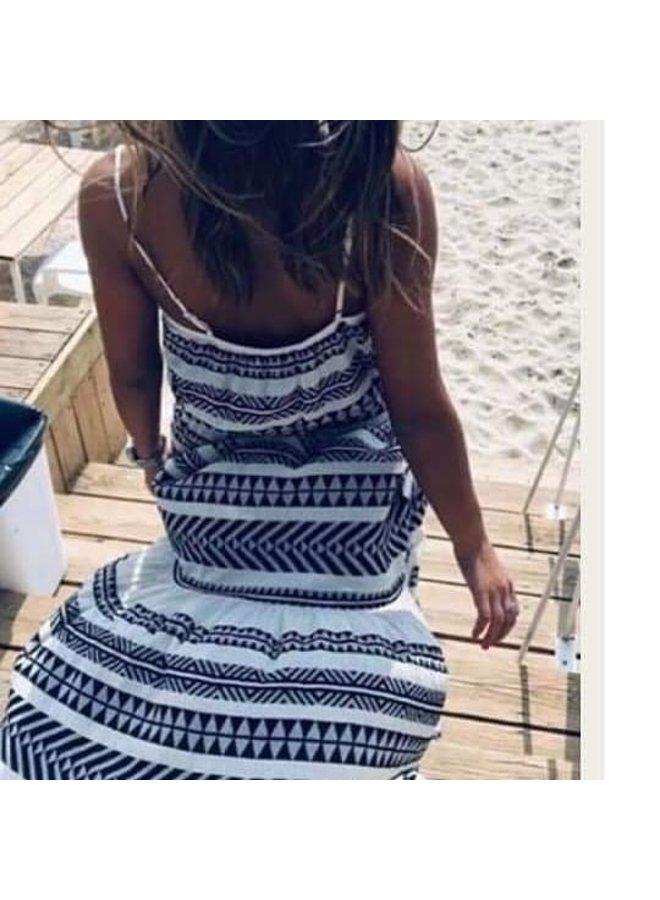 Ibiza maxi dress-black