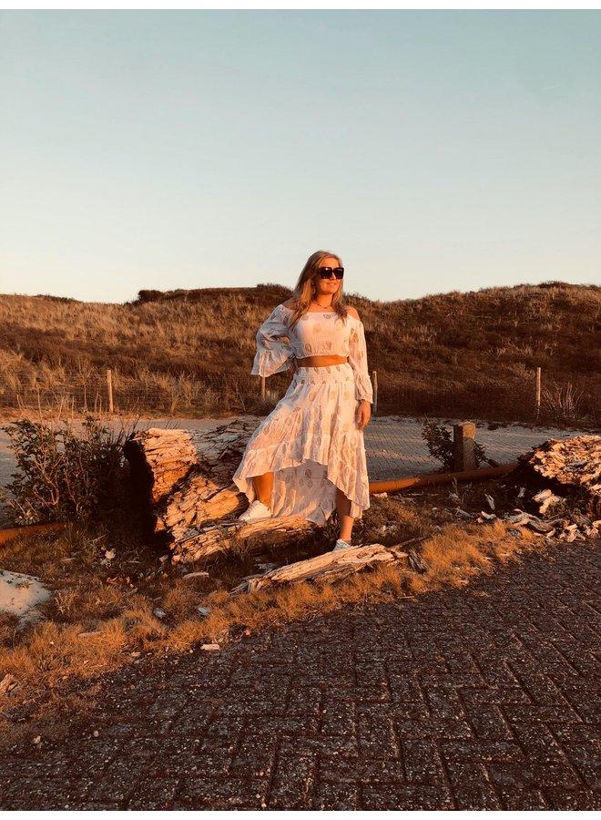 Boho Ibiza  2 delige set-white