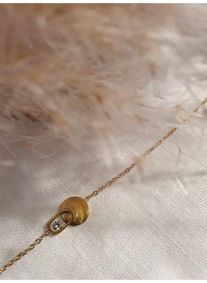 ZAG Bijoux lily armband - gold