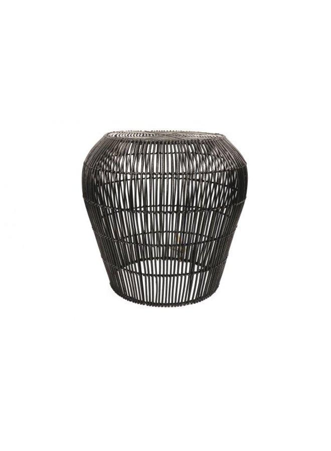 Housevitamin rotan table 40cm black
