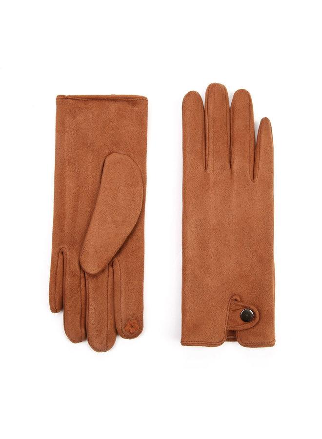 Denise handschoenen-  Cognac