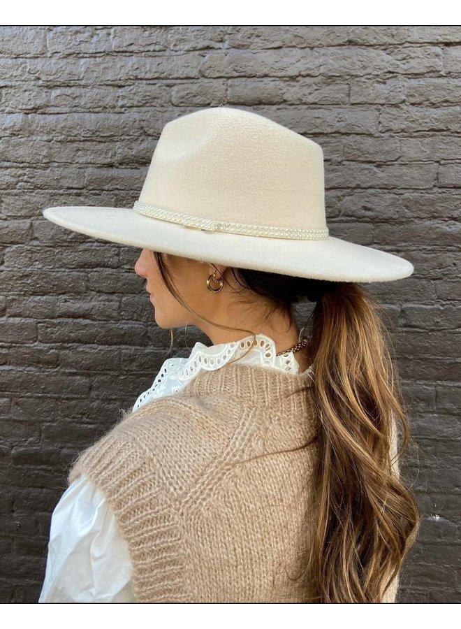 Britt hoed- beige