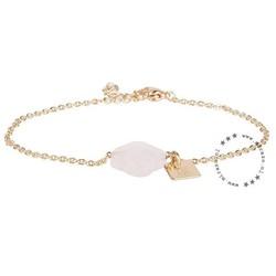 ZAG Bijoux jewellery  ZAG armband klaver baby roze goud