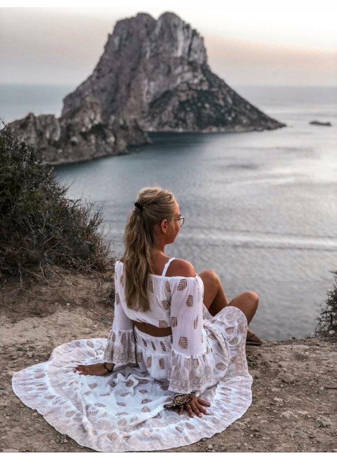 Boho Ibiza set-white