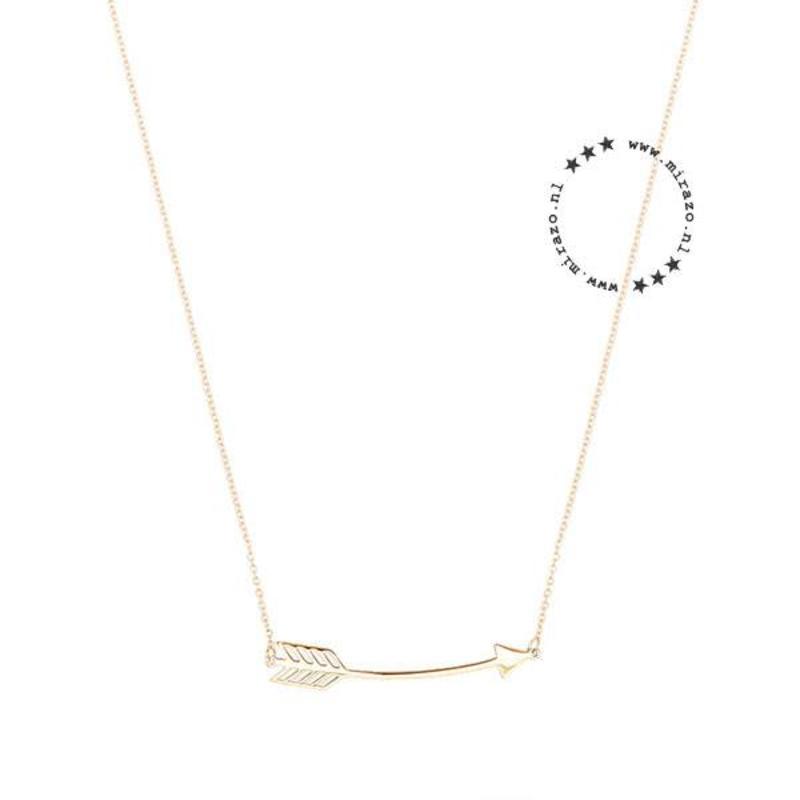 ZAG Bijoux jewellery  ZAG ketting arrow pijltje goud