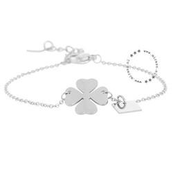 ZAG Bijoux jewellery  ZAG armband klaver zilver