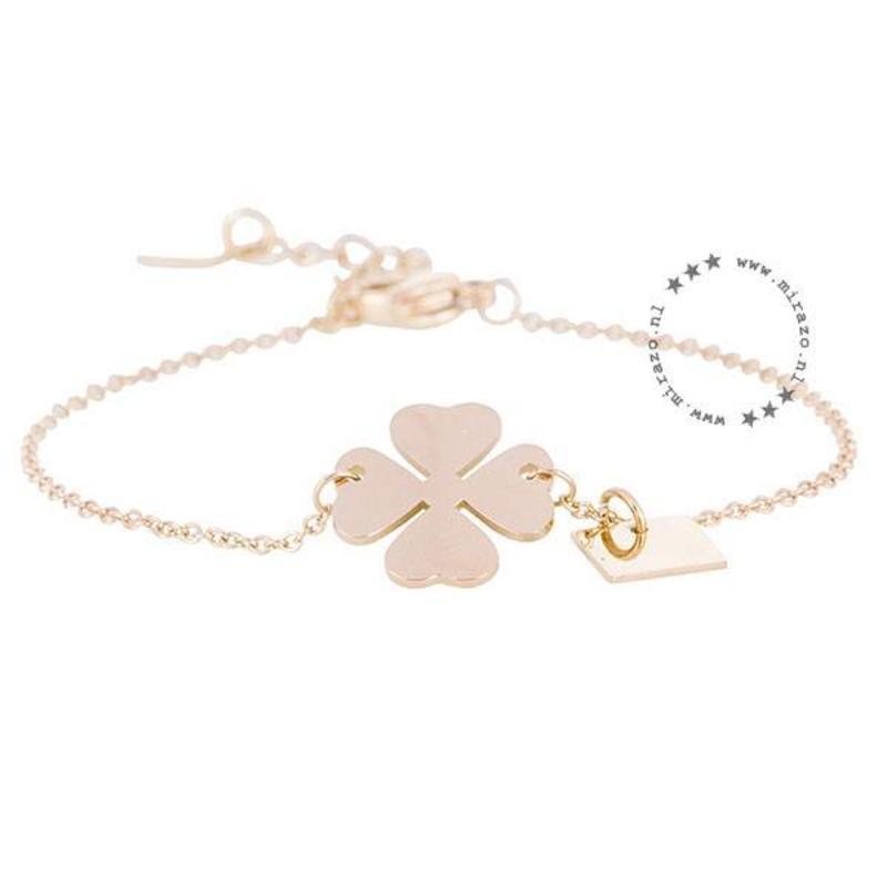 ZAG Bijoux jewellery  ZAG armband klaver goud