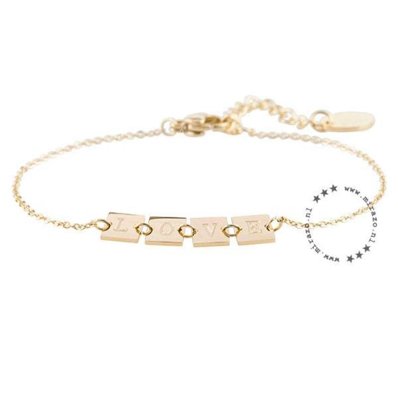 ZAG Bijoux jewellery ZAG armband love goud