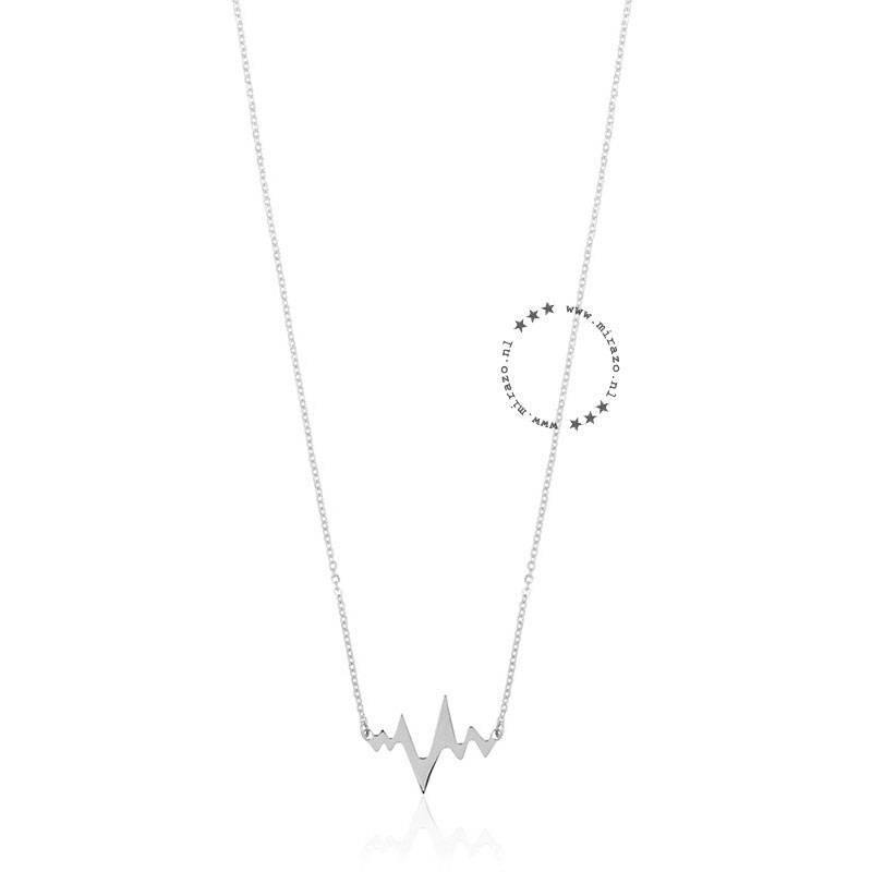 ZAG Bijoux jewellery ZAG ketting heartbeat zilver