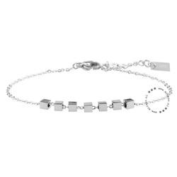 ZAG Bijoux jewellery  ZAG armband cubes zilver