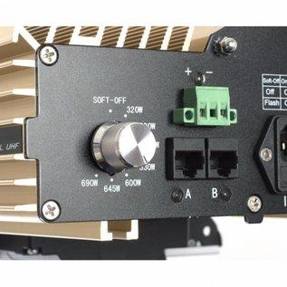 DimLux Expert Series UHF 600W (kit de iluminação completa)