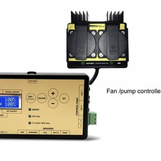 OptiClimate Conjunto de controlador de ventilador / bomba para enfriadoras OC