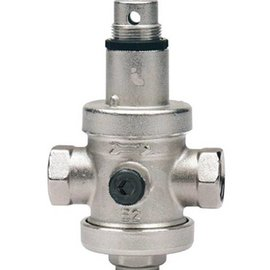 OptiClimate water pressure reducing valve with pressure gauge