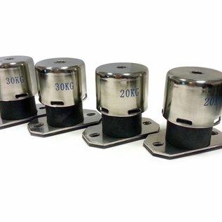 OptiClimate Vibration isolator springs for OptiClimate